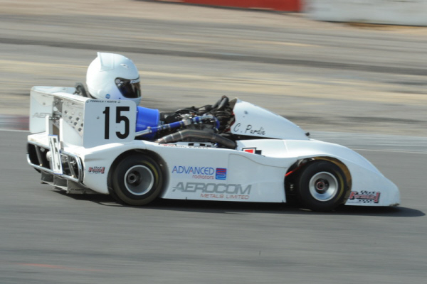 Chris in the F1Karts 450
