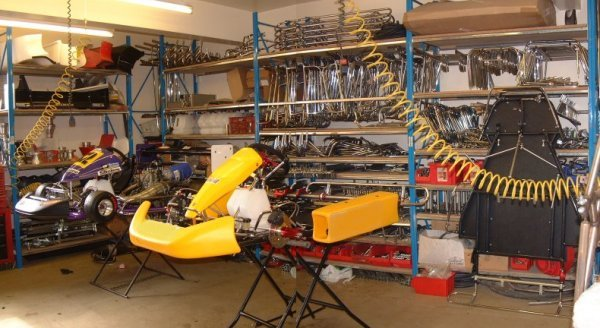 The F1Karts Fabrication Workshop